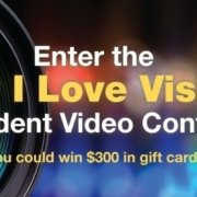 Banner announcing 2016 Why I Love Visions Video Contest
