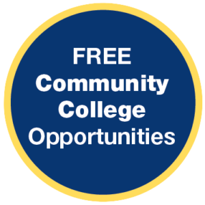 Visions In Education offers free community college opportunities