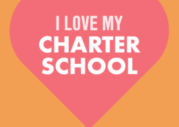 I love my charter school shareable graphic for National Charter Schools Week